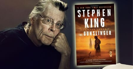 Dark Tower - The Gunslinger by Stephen King Book