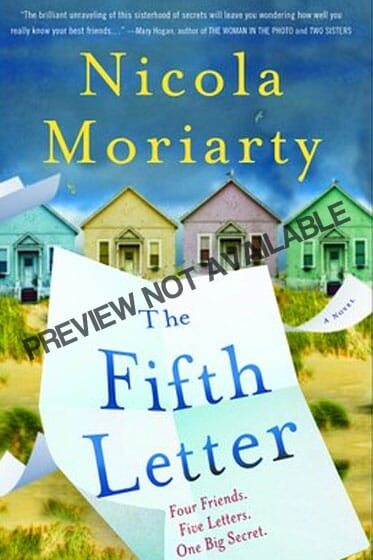 The Fifth Letter Book by Nicola Moriarty PDF EPUB Cover Image