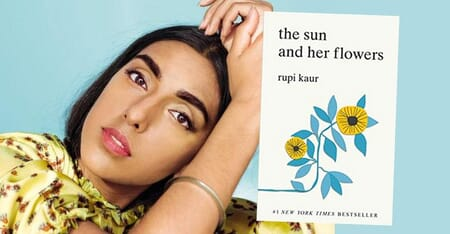 The Sun and Her Flowers Book by Rupi Kaur Image