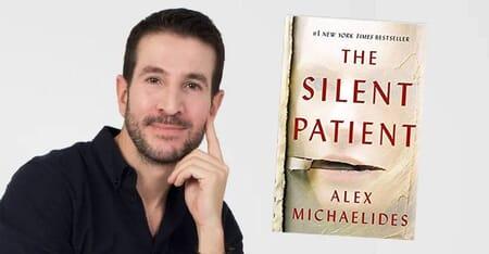 The Silent Patient Book Cover Image by Alex Michaelides