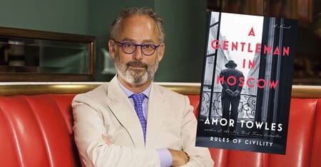 A Gentleman in Moscow by Amor Towles Picture